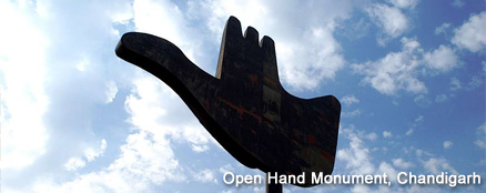 Open Hand Monument